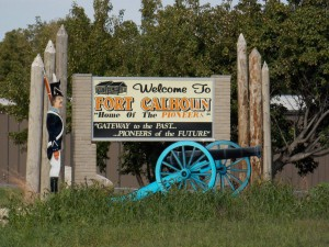 SOUTH WELCOME SIGN