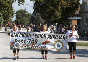 American Legion Auxiliary Post 348 was one or 40 or more units in the Herotage Festival Parade Saturday.